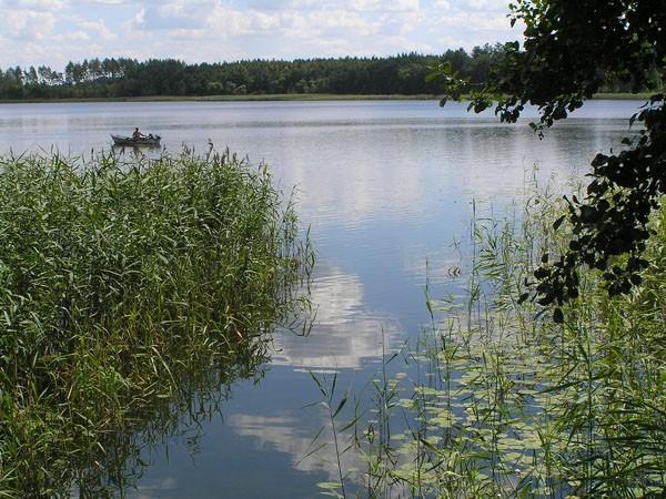 Orzysz. Rowerem wokół jeziora Orzysz