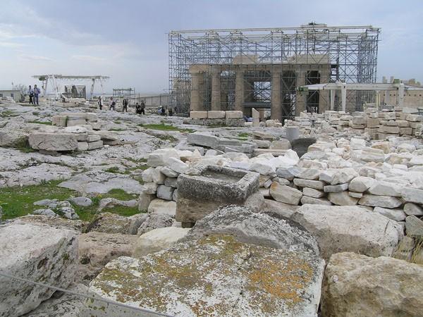 Ateny. Co widać z Akropolu w listopadowy ranek