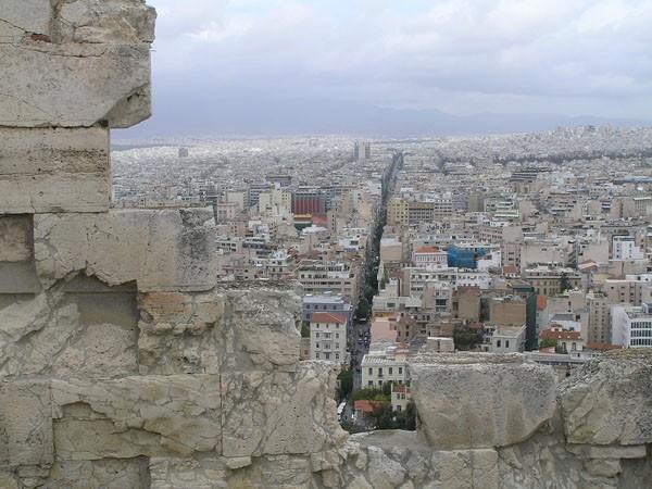 Ateny. Miejskie życie, z dala od gruzów