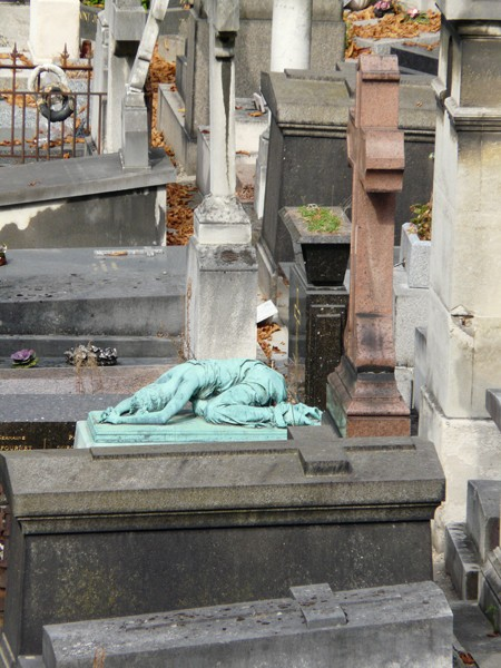 Paryż. Nekropolia na Montmartre