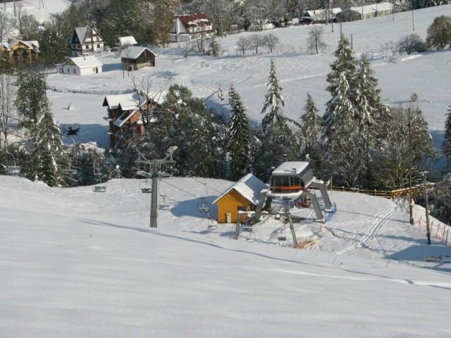 Jaworki. Nowe krzesło na narciarskiej arenie