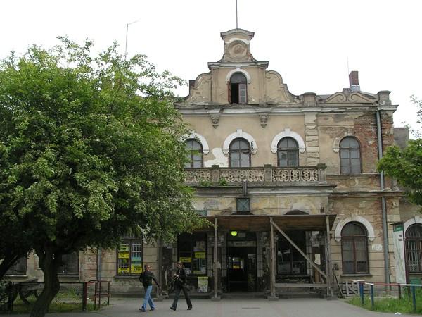 Aleksandrów Kujawski. Cesarski pałac przy samych torach