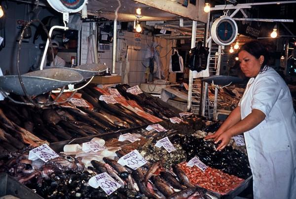 Santiago de Chile Jeśli ryba, to tylko na targu