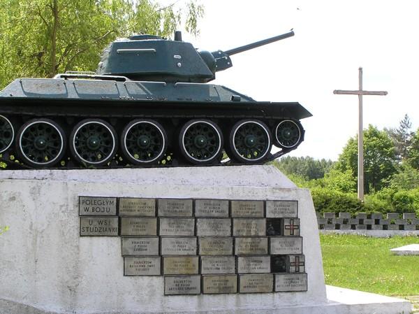 Mniszew. Skansen Czterech Pancernych