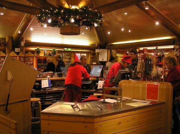 Rovaniemi. W siedzibie Świętego Mikołaja
