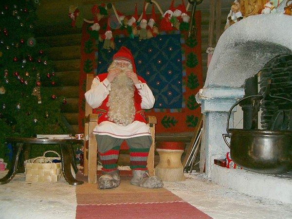 Rovaniemi Mikołaj czeka na dzieci