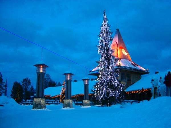 Rovaniemi. Mikołaj czeka na dzieci