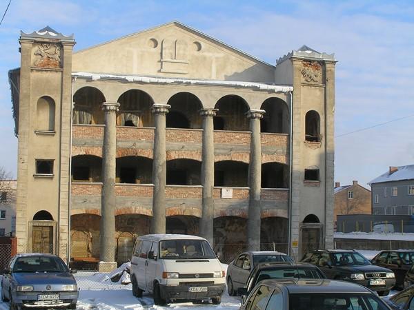 Dąbrowa Tarnowska Synagodze na ratunek