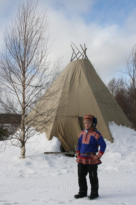 Rovaniemi. Rumaki świętego Mikołaja