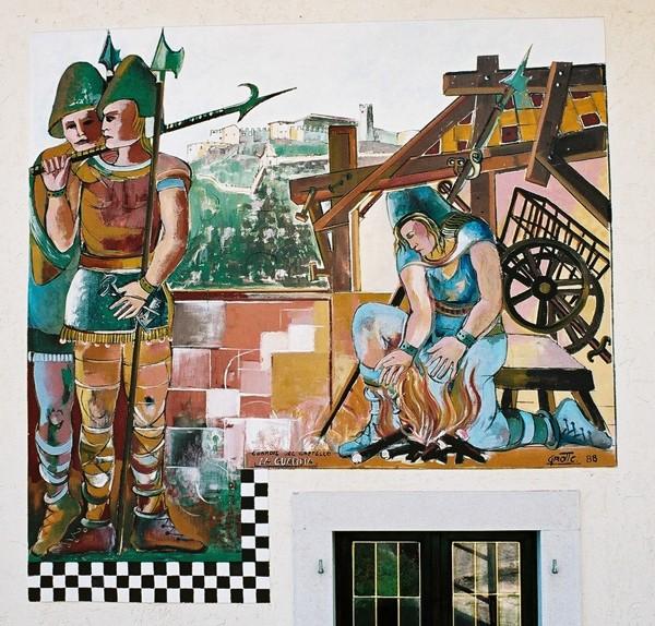 Guardia W malowanej wiosce