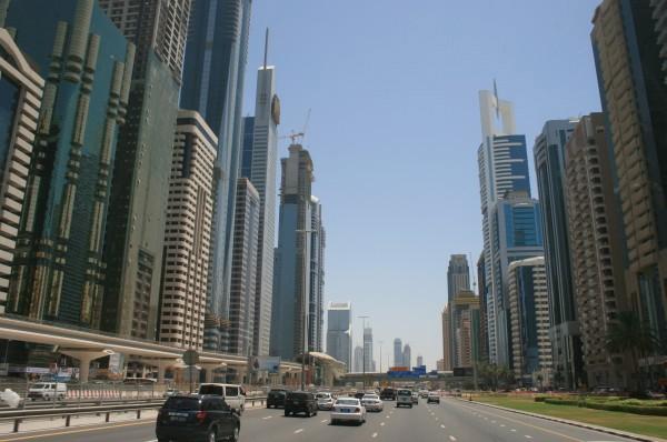 Dubaj Metropolia w budowie
