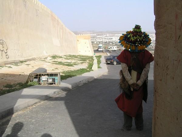 Agadir Cytadela nad miastem