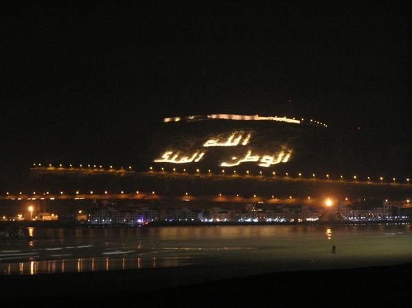 Agadir. Cytadela nad miastem