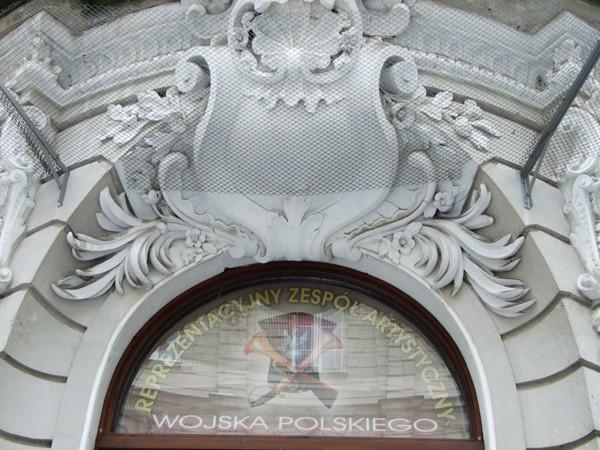 Warszawa. Pałac śpiewających wojaków