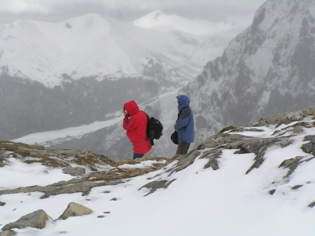 Picos de Europa Kolejką prosto w śniegi