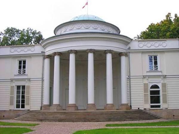 Warszawa Tajemniczy pałac w Natolinie
