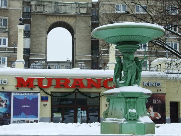 Warszawa. Wędrująca fontanna