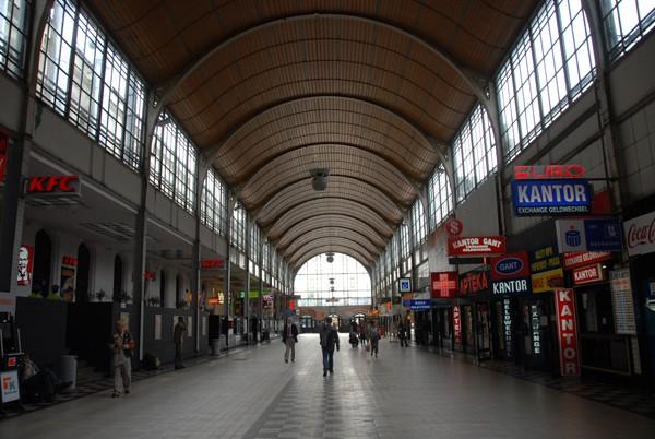 Wrocław. Na dworzec, prosto z pociągu