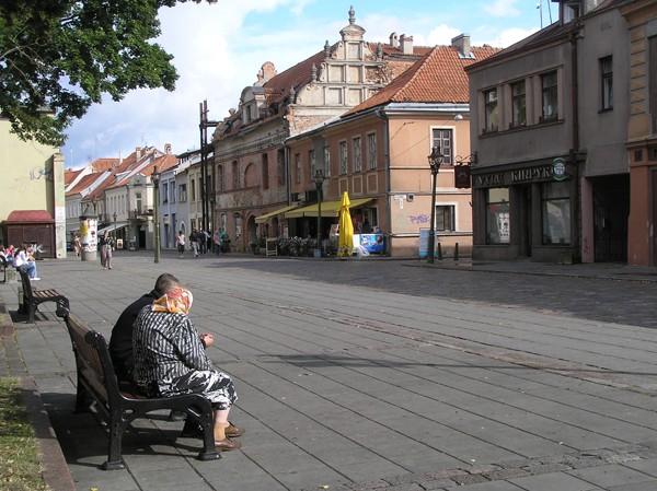Kowno. W zastępczej stolicy Litwy