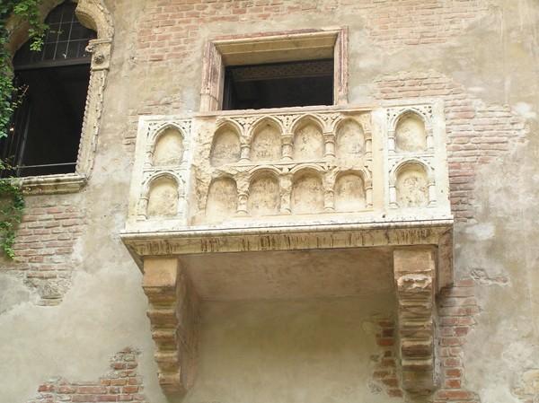 Werona Pod balkonem Giulietty
