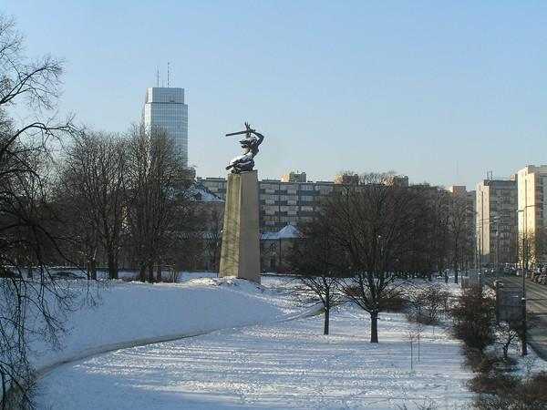 Warszawa. Nike ma twarz dziewczynki