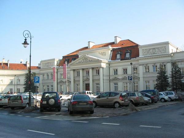 Warszawa Po prymasach została nazwa