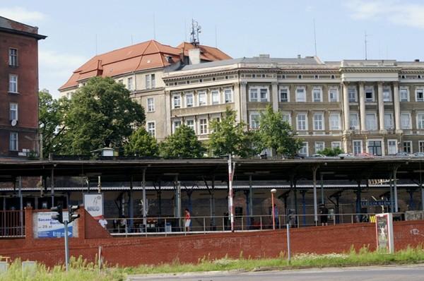 Szczecin. Rekonesans od strony Odry