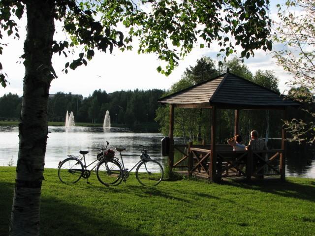 Oulu. Rowerem do miasta