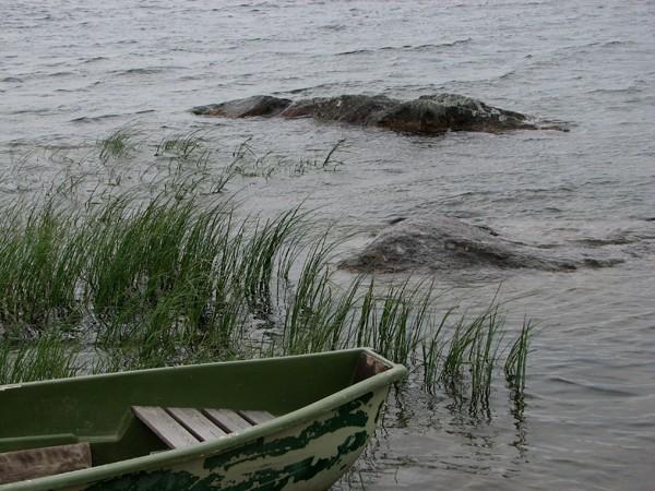 Inari. Pożegnanie z jeziorem