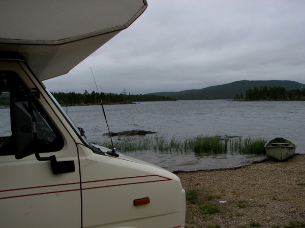 Inari Pożegnanie z jeziorem