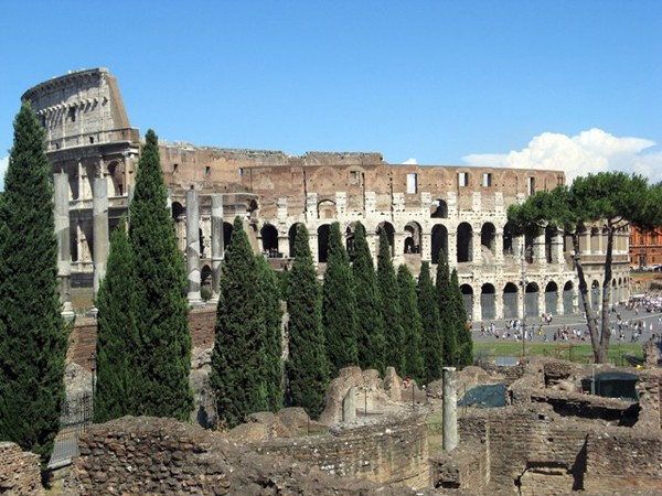 Rzym Ikona Koloseum