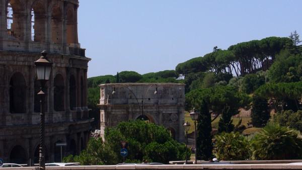 Rzym. Ikona Koloseum