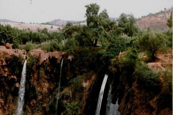 Ouzoud Największe wodospady Maroka