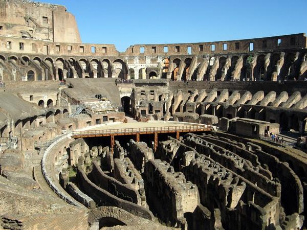 Rzym. Bohaterowie areny Koloseum