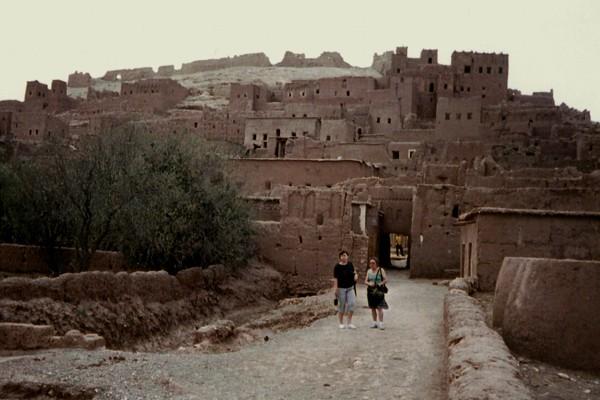 Ouarzazate. Filmowa kazba Ait Benhaddou