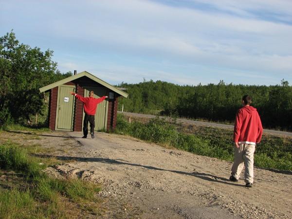 Fiord Porsangen. Opowieść o norweskiej sławojce