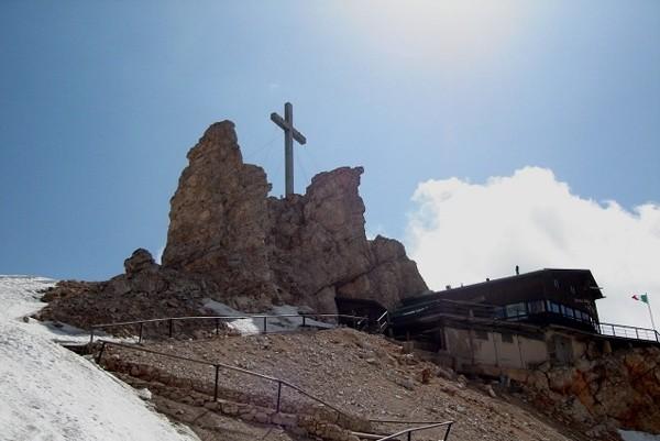Monte Cristallo. Kubełkiem pod ferratą