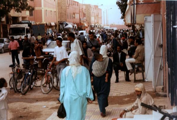 Er-Rachidia W drodze do wrót Sahary