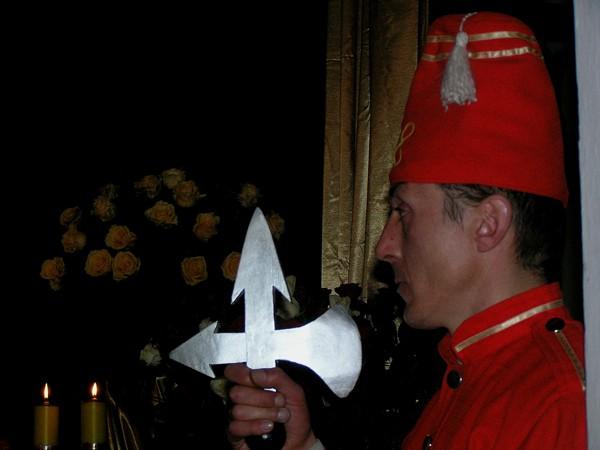 Drobin. Czerwone Turki i florenckie nagrobki