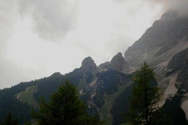 Col Druscie. W pół drogi na Tofany