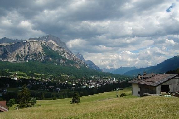 Cortina d'Ampezzo. W olimpijskim kurorcie