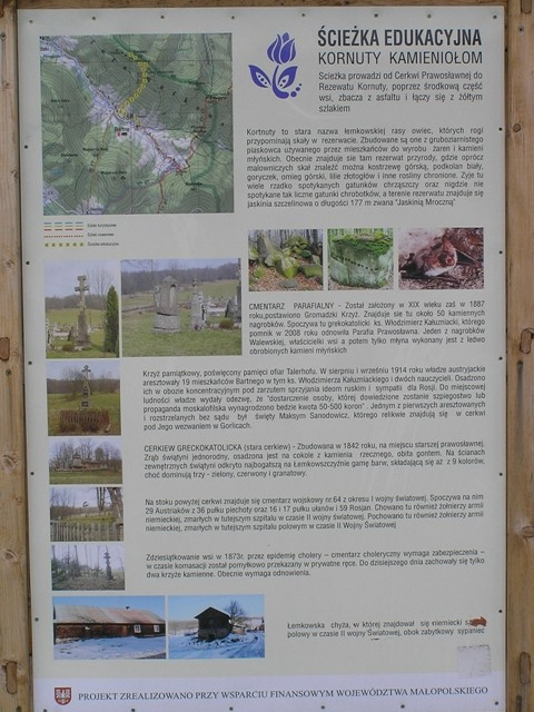 Kornuty. Rezerwat magurskich piaskowców