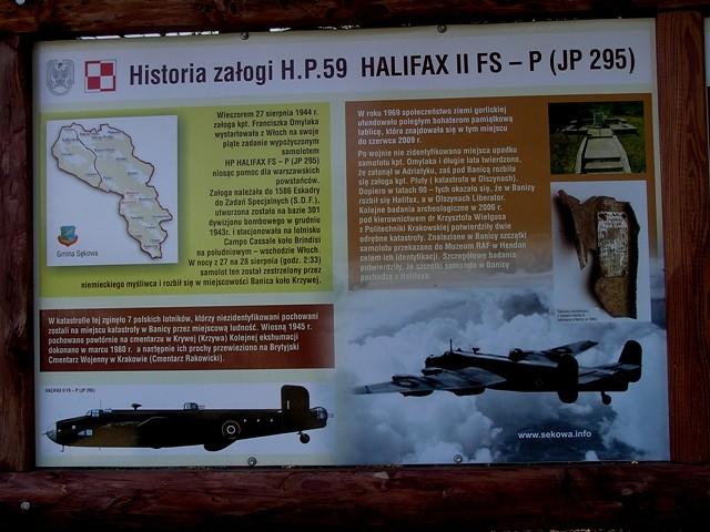 Banica. Tajemnica Halifaxa odkryta po latach