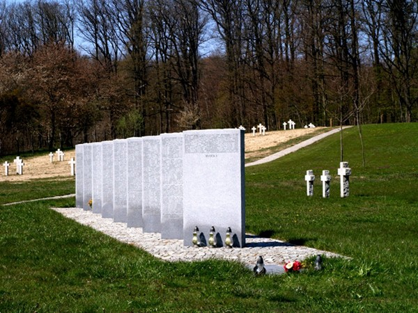 Glinna Cmentarz niemieckich żołnierzy