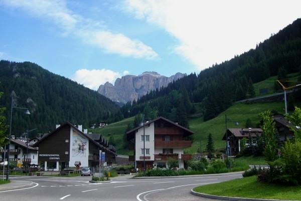 Val di Fassa. Małe miasteczka w wielkiej dolinie