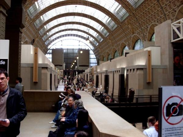 Paryż. Na dworcu, czyli w Muzeum Orsay