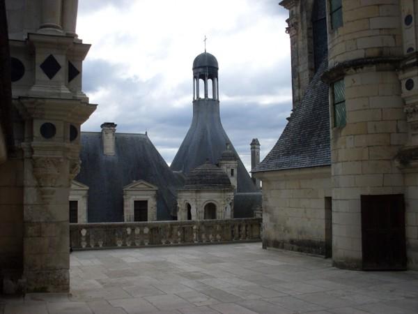 Chambord. Zamek zdobny w salamandry