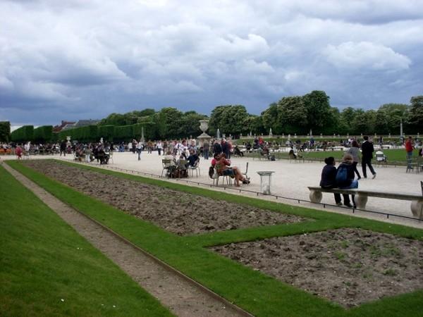 Paryż W Ogrodach Luksemburskich