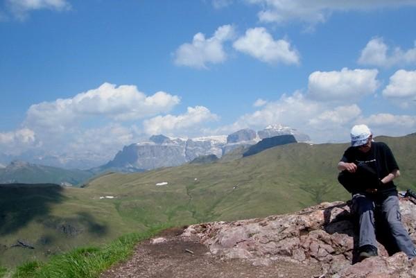 Sela Brunech Ścieżką ponad dolinami