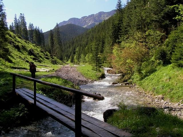 Dolina Lejowa Pusto, jak nie w Tatrach